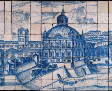 Museu do Azulejo, National Tile Museum in Lisbon