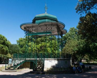 Jardim da Estrela 19th century gazebo