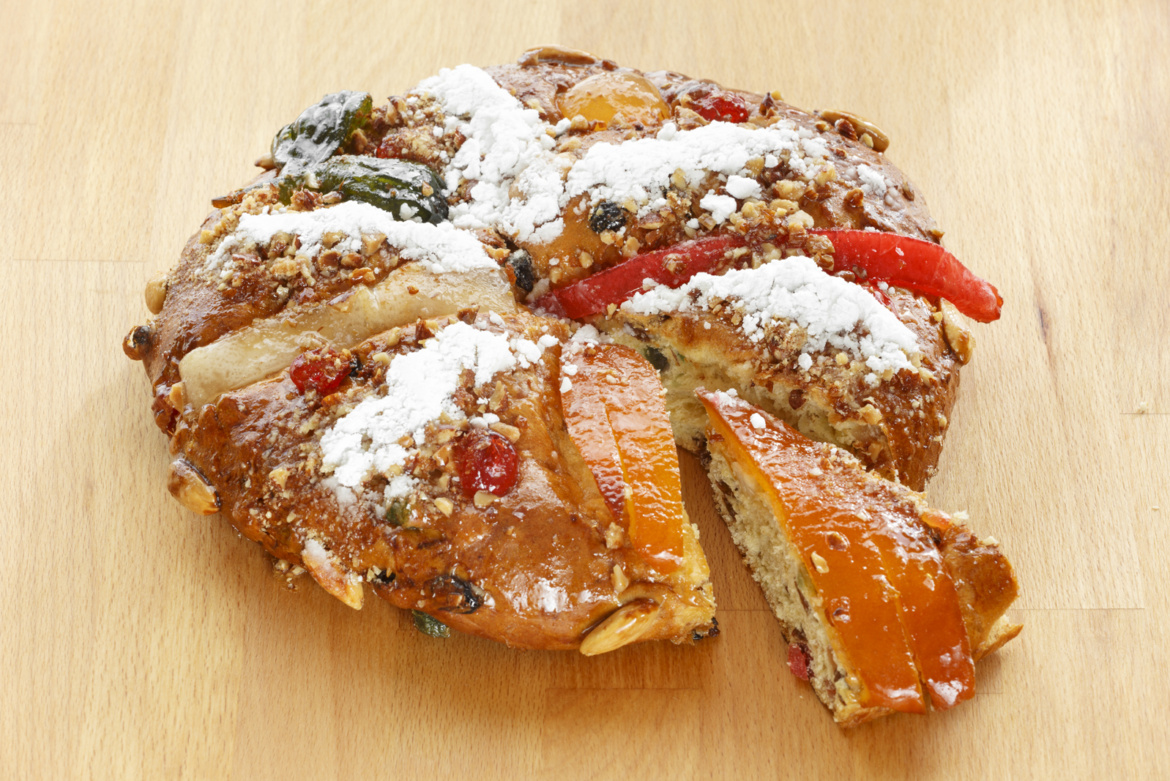 King Cake, or Bolo Rei is one of the most beloved Portuguese cakes, eaten during the Holidays