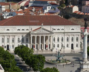 D. Maria II Theatre in Lisbon