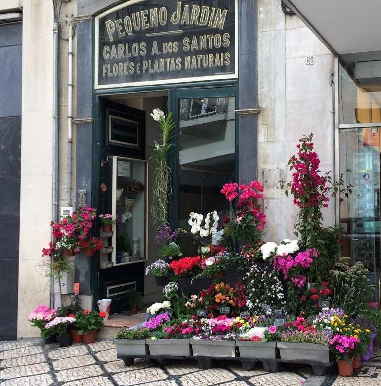 The most adorable florist in Chiado, Lisbon